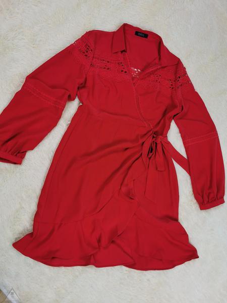 Abito Rosso Flamenco