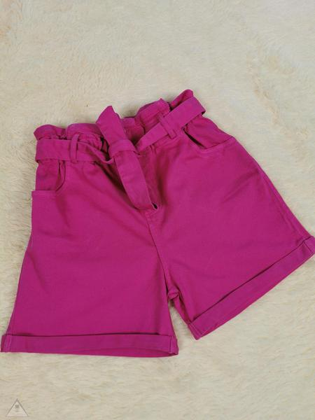 Shorts jeans fuxia