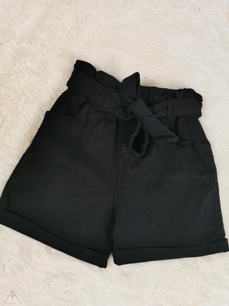 Shorts Jeans Nero