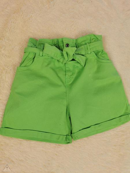 Shorts Jeans Verde