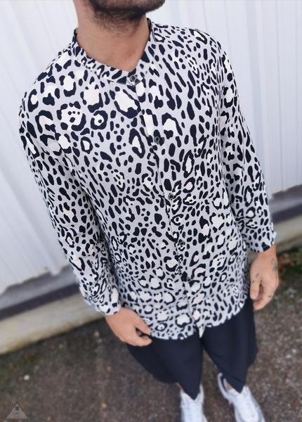 Camicia Animalier White