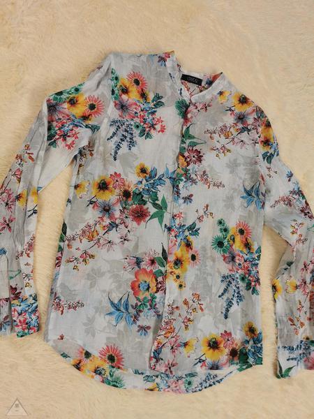 Camicia Lino Fiore