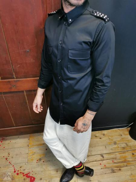 Camicia Nera  mostrina borchia