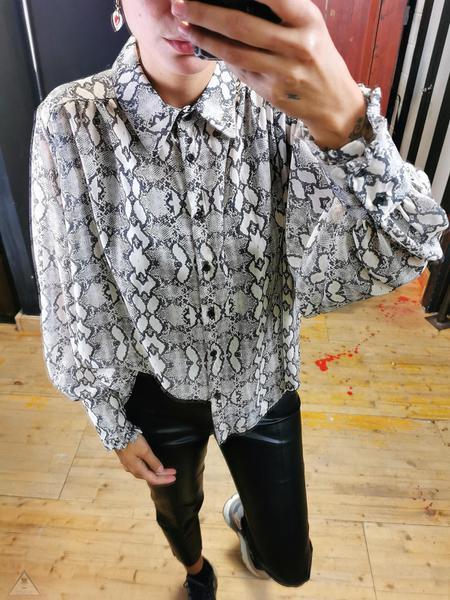 Camicia Pitone Grey