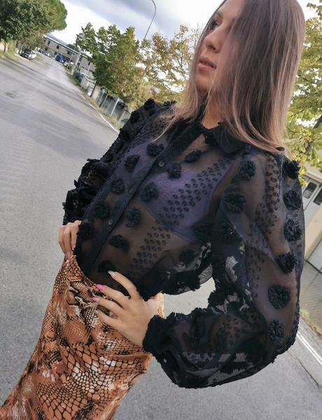 Camicia Pon Pon Black