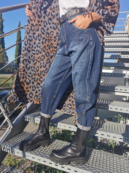 Jeans Boyfriend Scuro