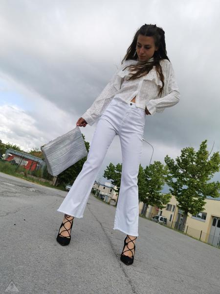 Jeans Imbuto White