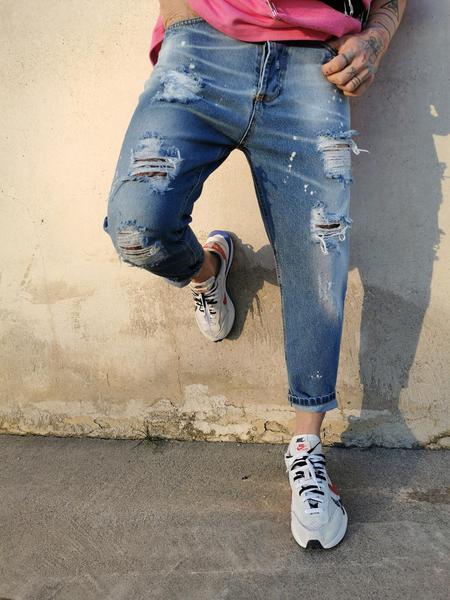 Jeans  Smacchiato