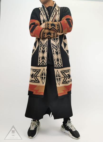 Maglia Coat Azteco