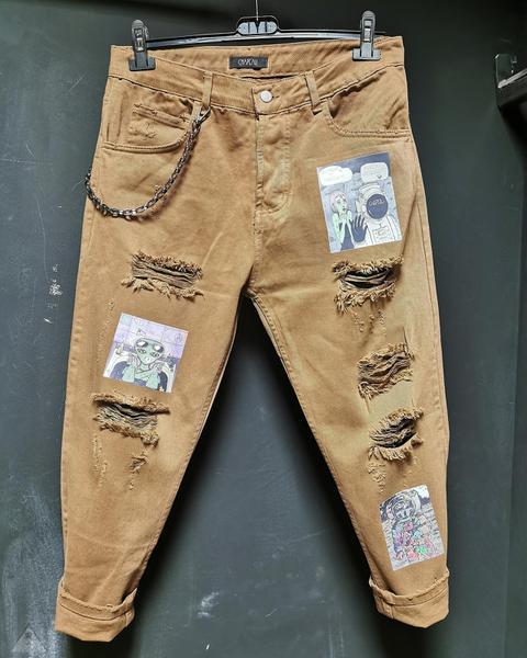 Jeans Cammello  Alieno