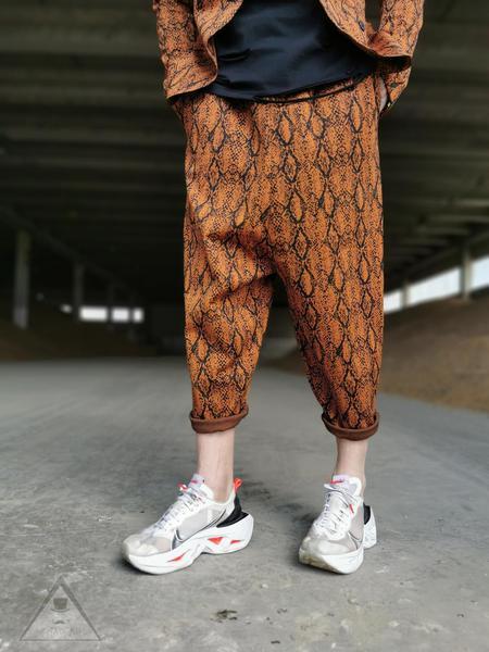 Pantalone Arancione jungle