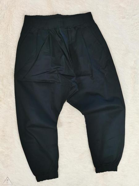 Pantalone cavallo basso nero