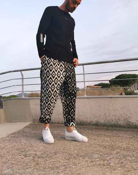 Pantalone Fintino Contrasto