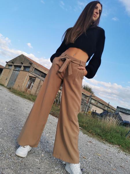 Pantalone Fusciacca Cammello