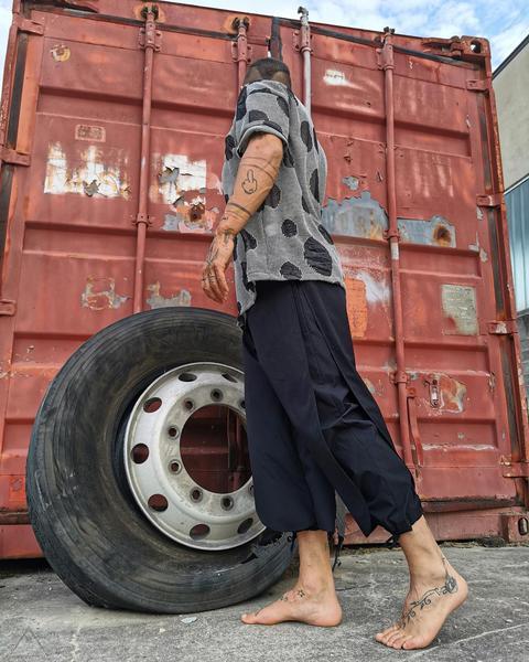 Pantalone Japan Farfalla