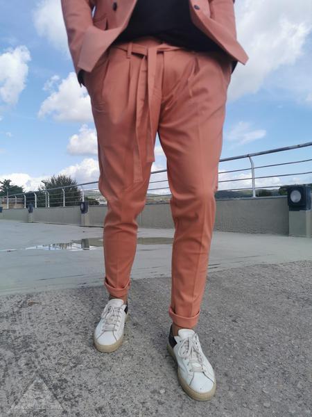 Pantalone Laccio Rosa salmone