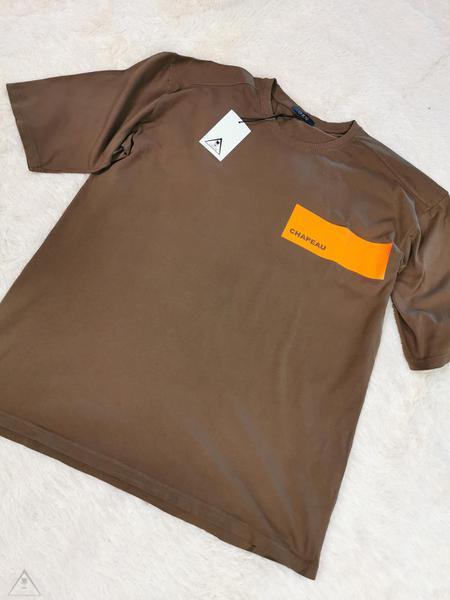 T-shirt  cammello