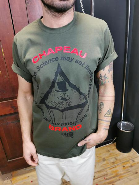 T-shirt contrasti militare