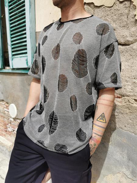 T-Shirt DoubleFace Filata Bicolor