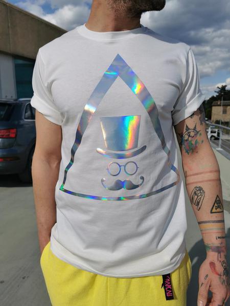 T-shirt Logo Cangiante