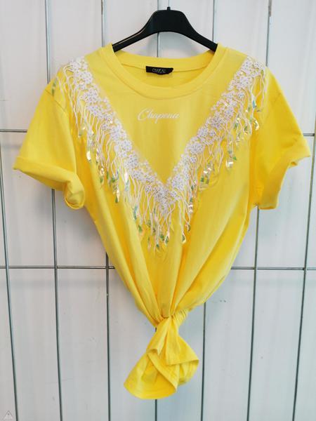 T-shirt Piume Sole