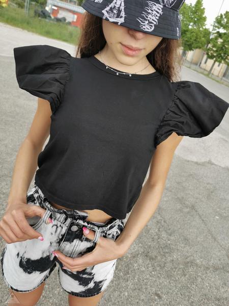 T-Shirt Rouches