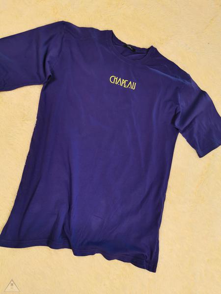 T-shirt viola Over