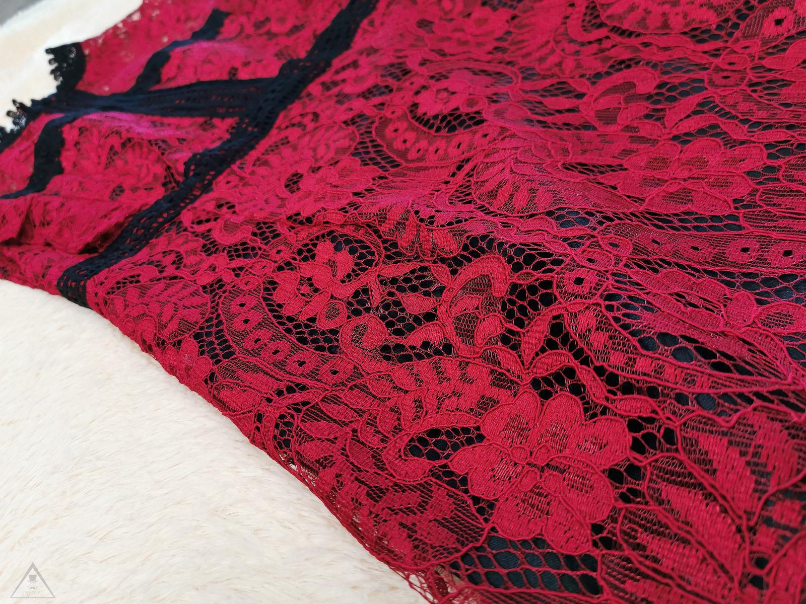 Abito pizzo red