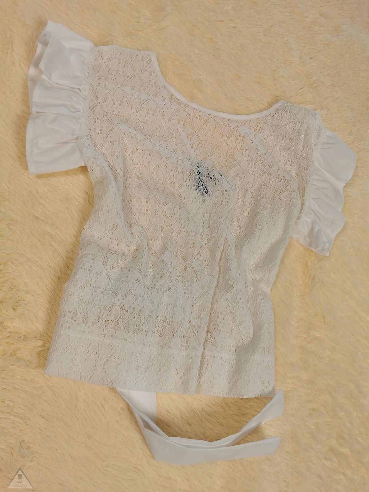 Blusa Pizzo Rouches