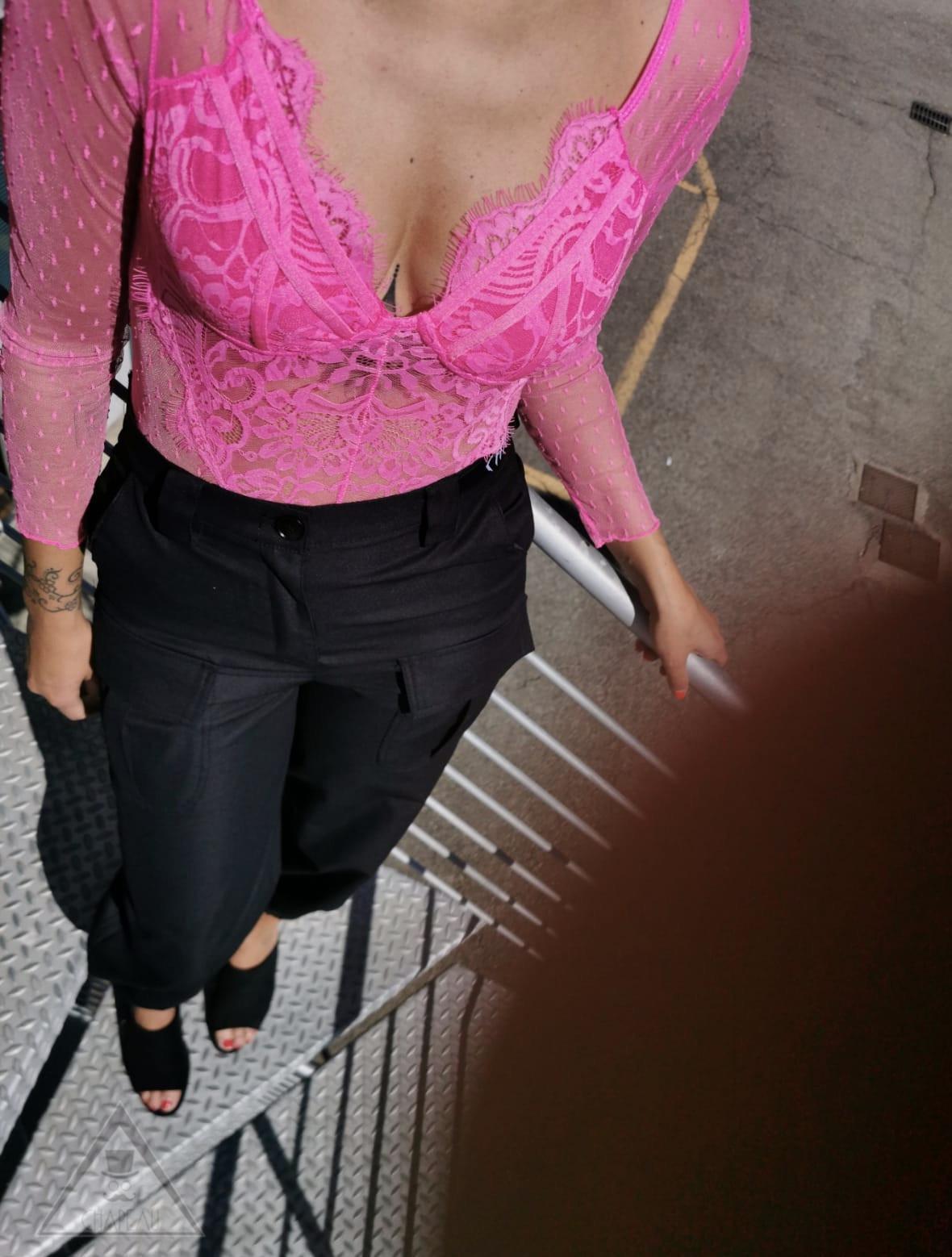 Body Pizzo Hot Pink