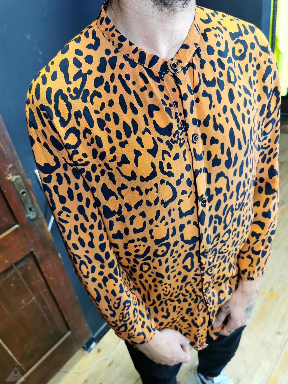 Camicia Animalier arancio