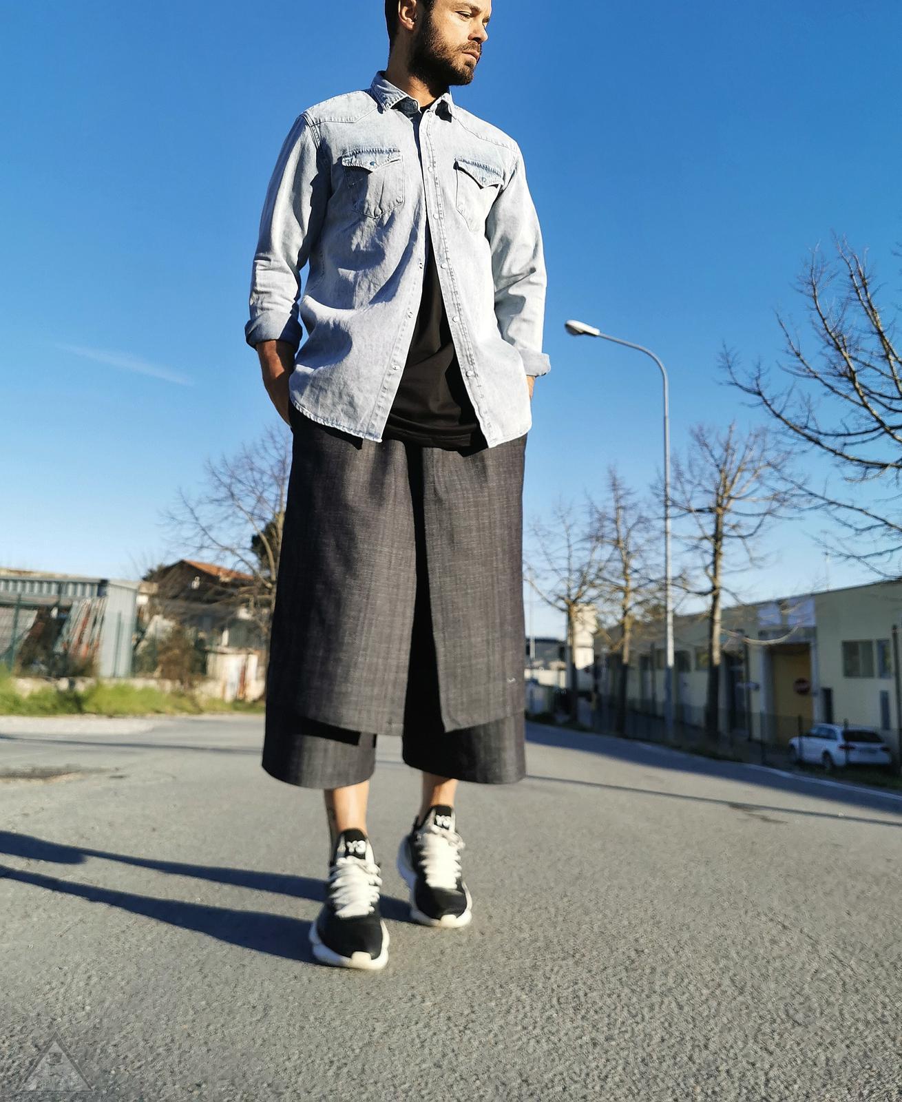 Camicia Jeans Clip
