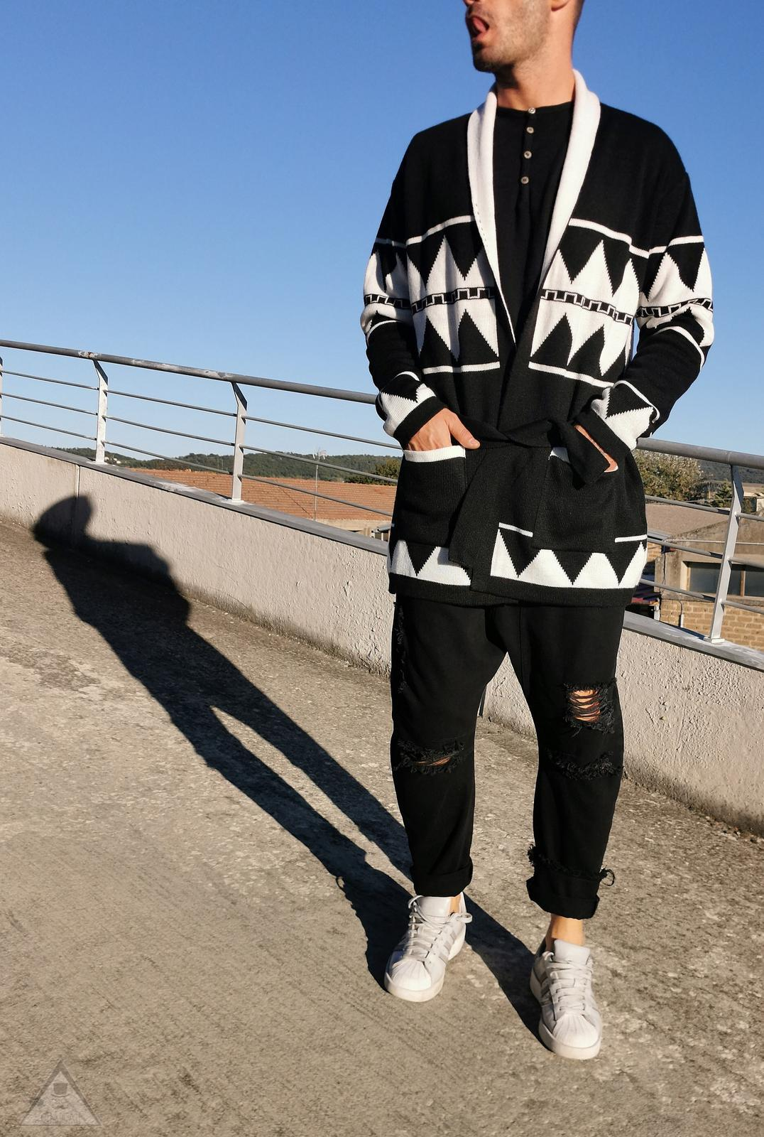 Cardigan Azteco Black