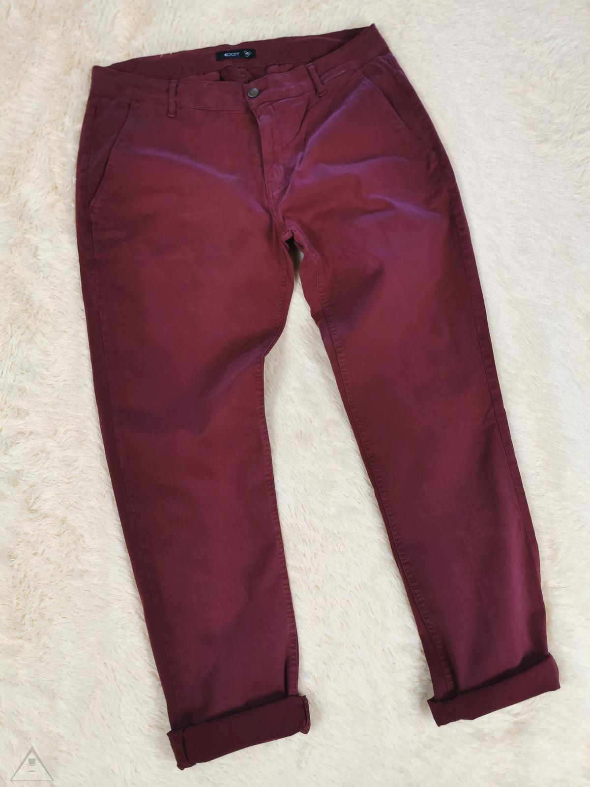 Chinos Bordeaux coon