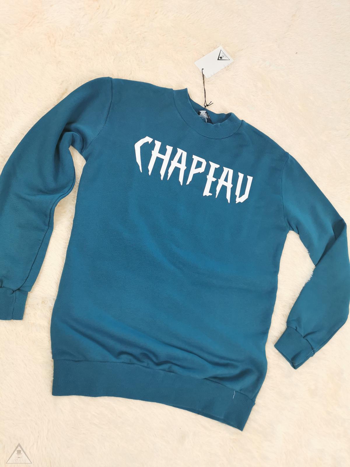 Felpa ottanio Chapeau