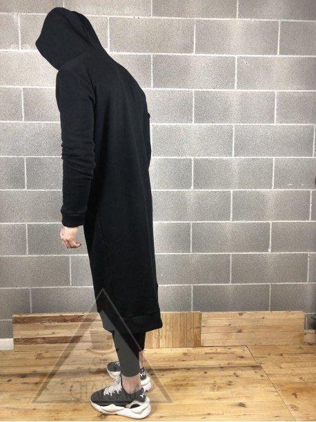 Felpone Oversize Black