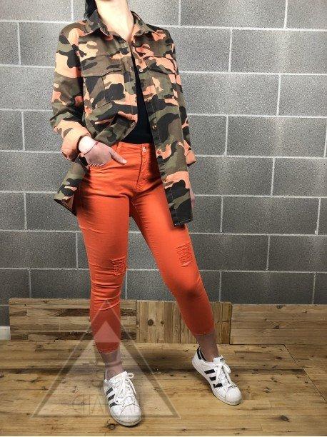 Giacca Camo Arancio