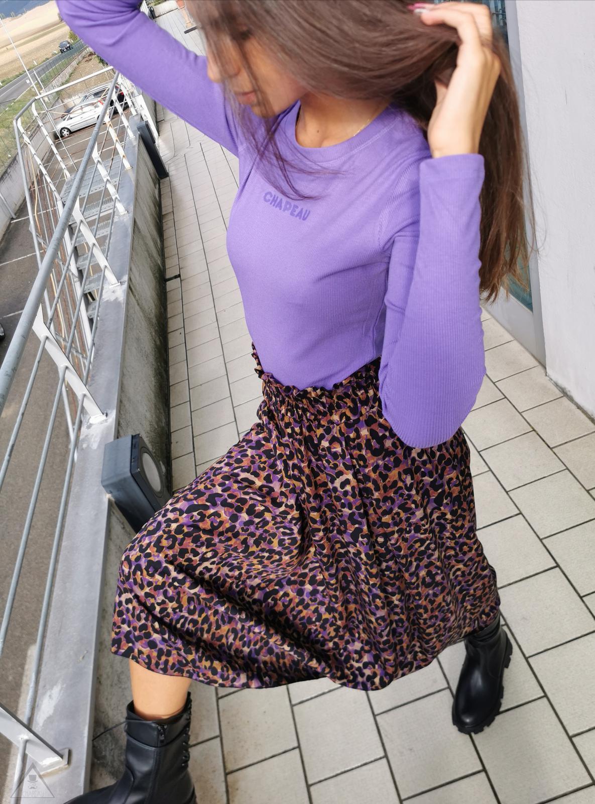 Gonna Leopardo Violet