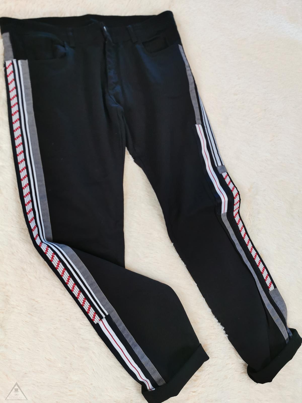 Jeans Bande Nero