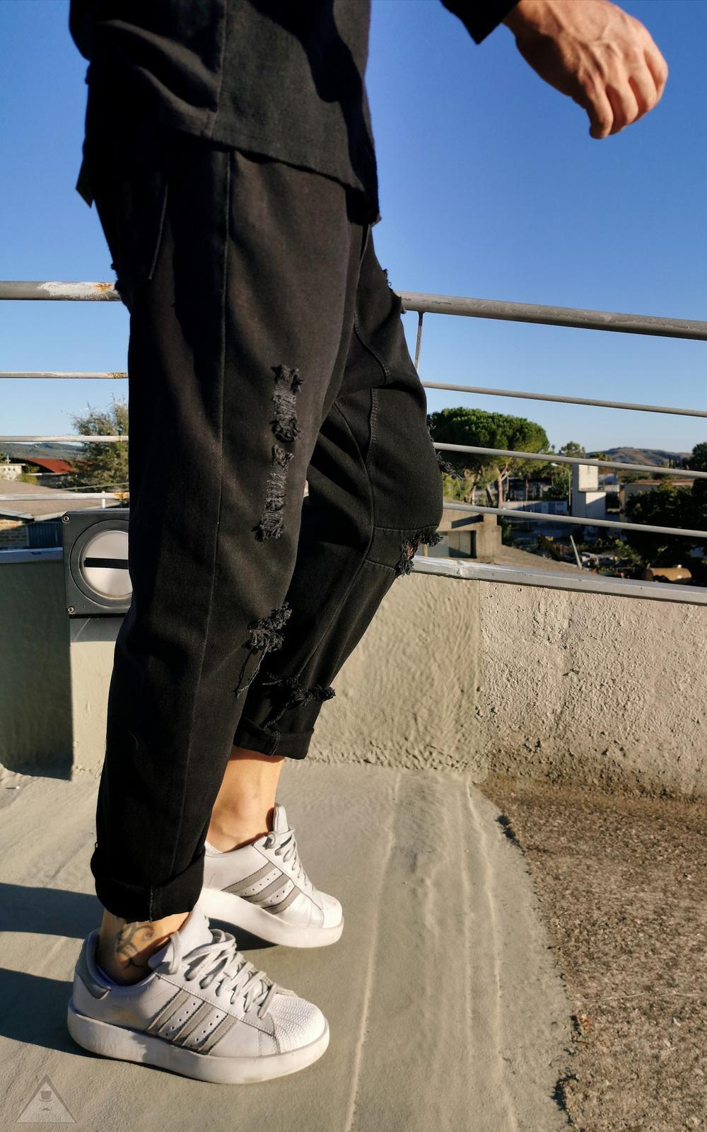 Jeans  Basso Black
