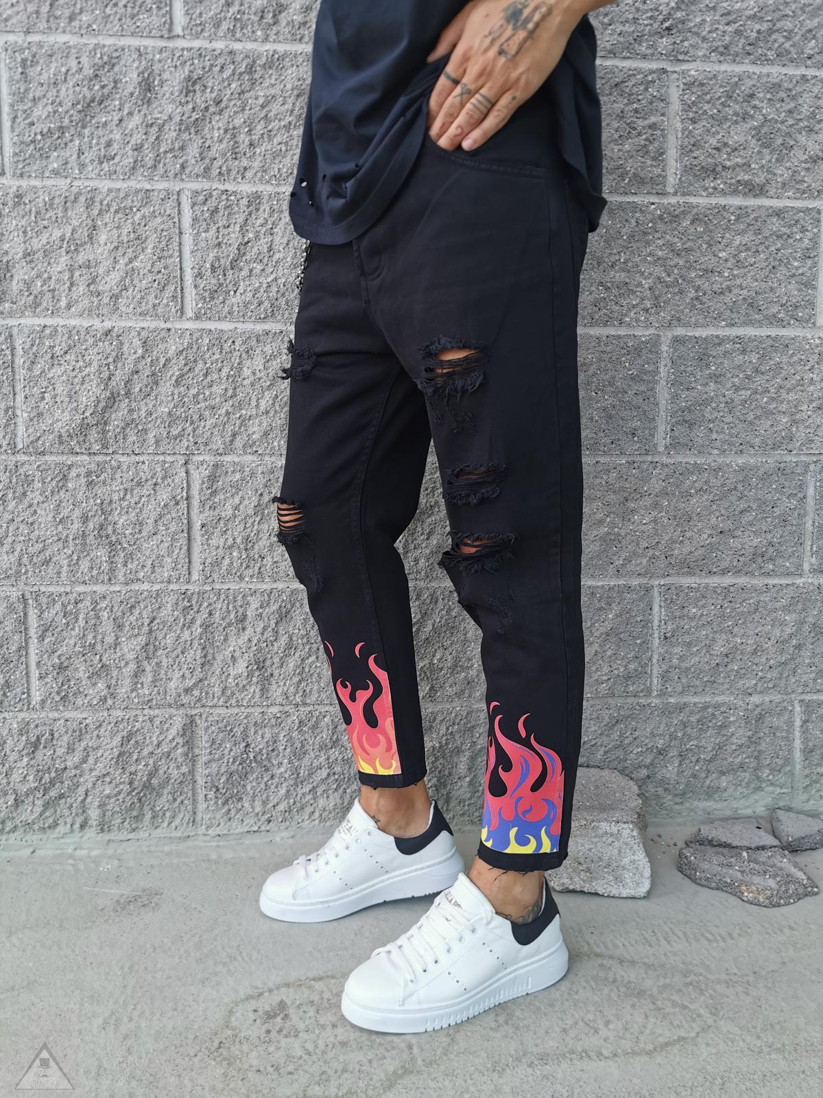 Jeans Black DEVIL