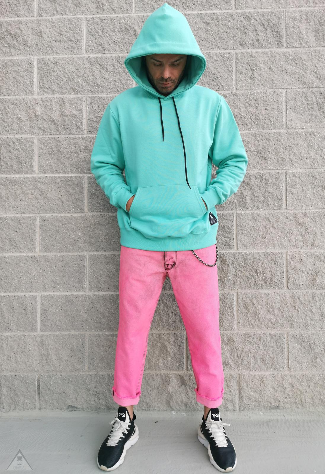 Jeans Fuxia Fluo