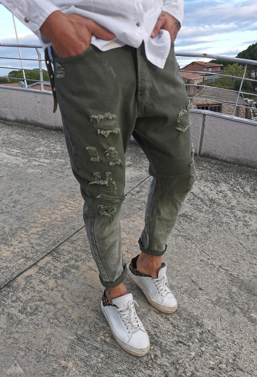 Jeans Militare calza