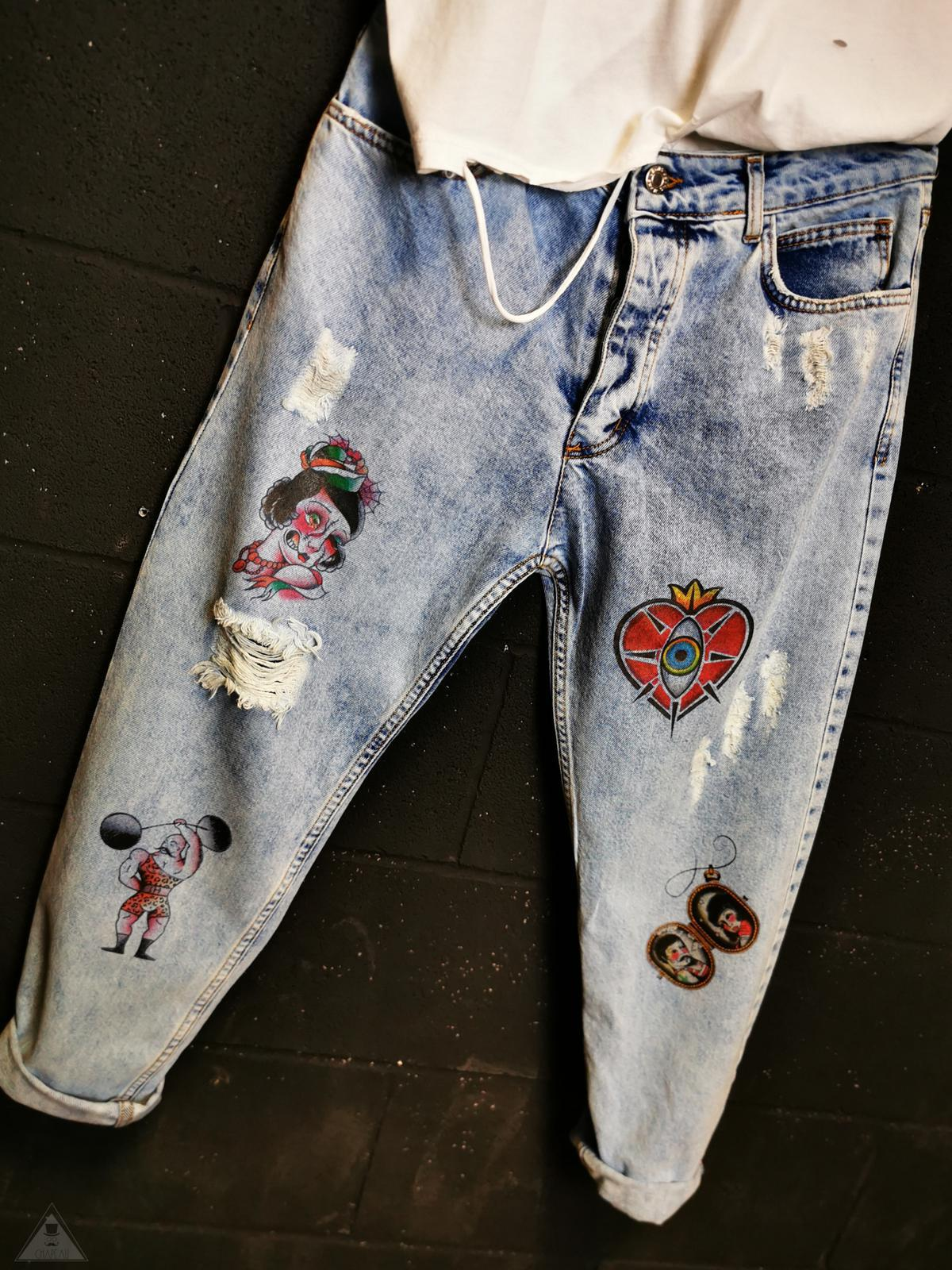 Jeans Old School
