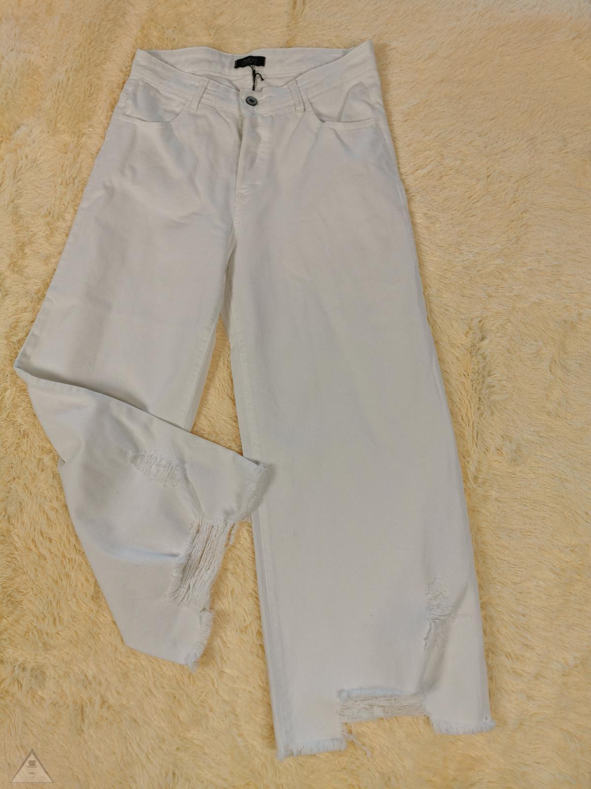 Jeans Palazzo White