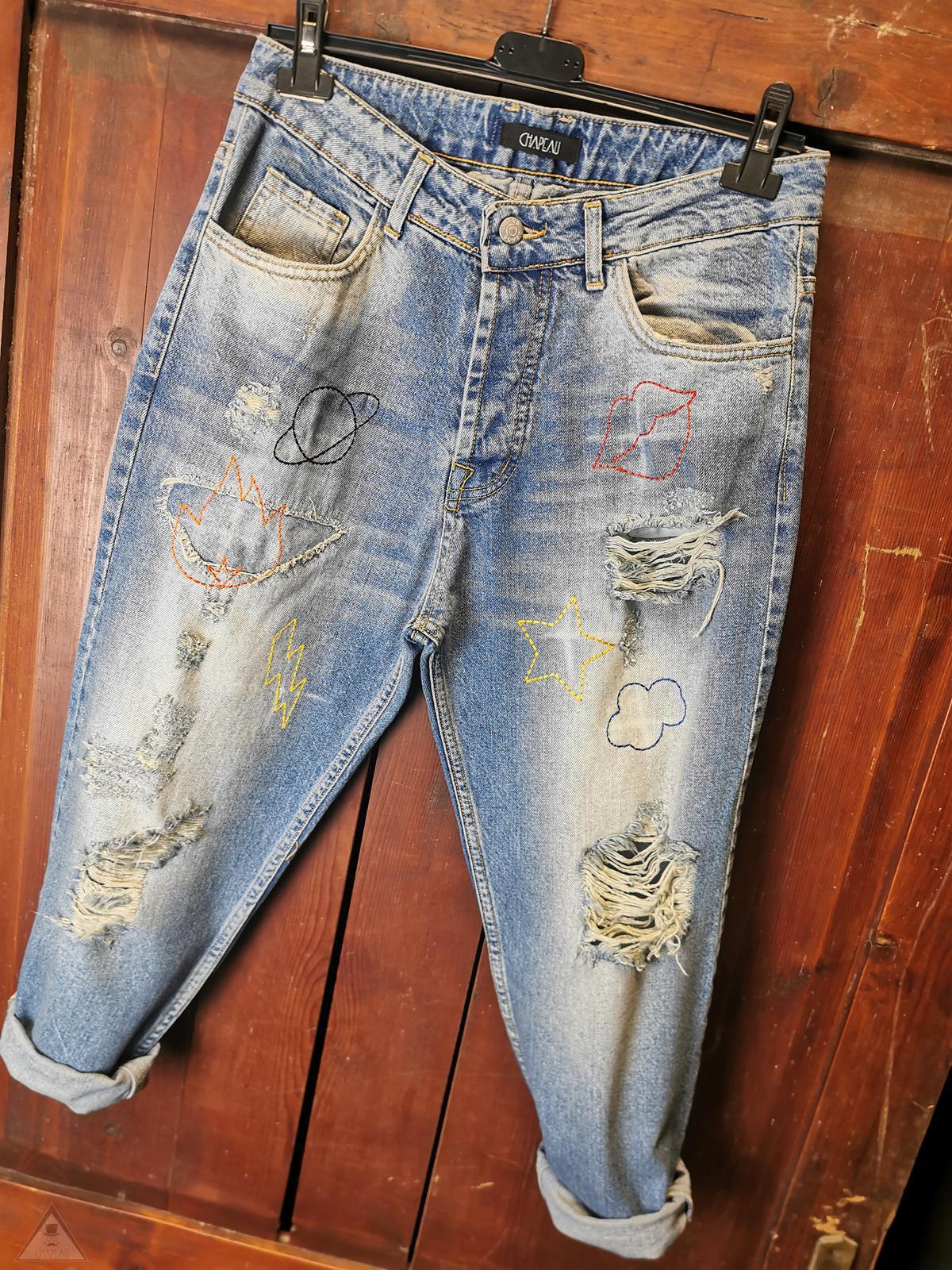 Jeans Ricami