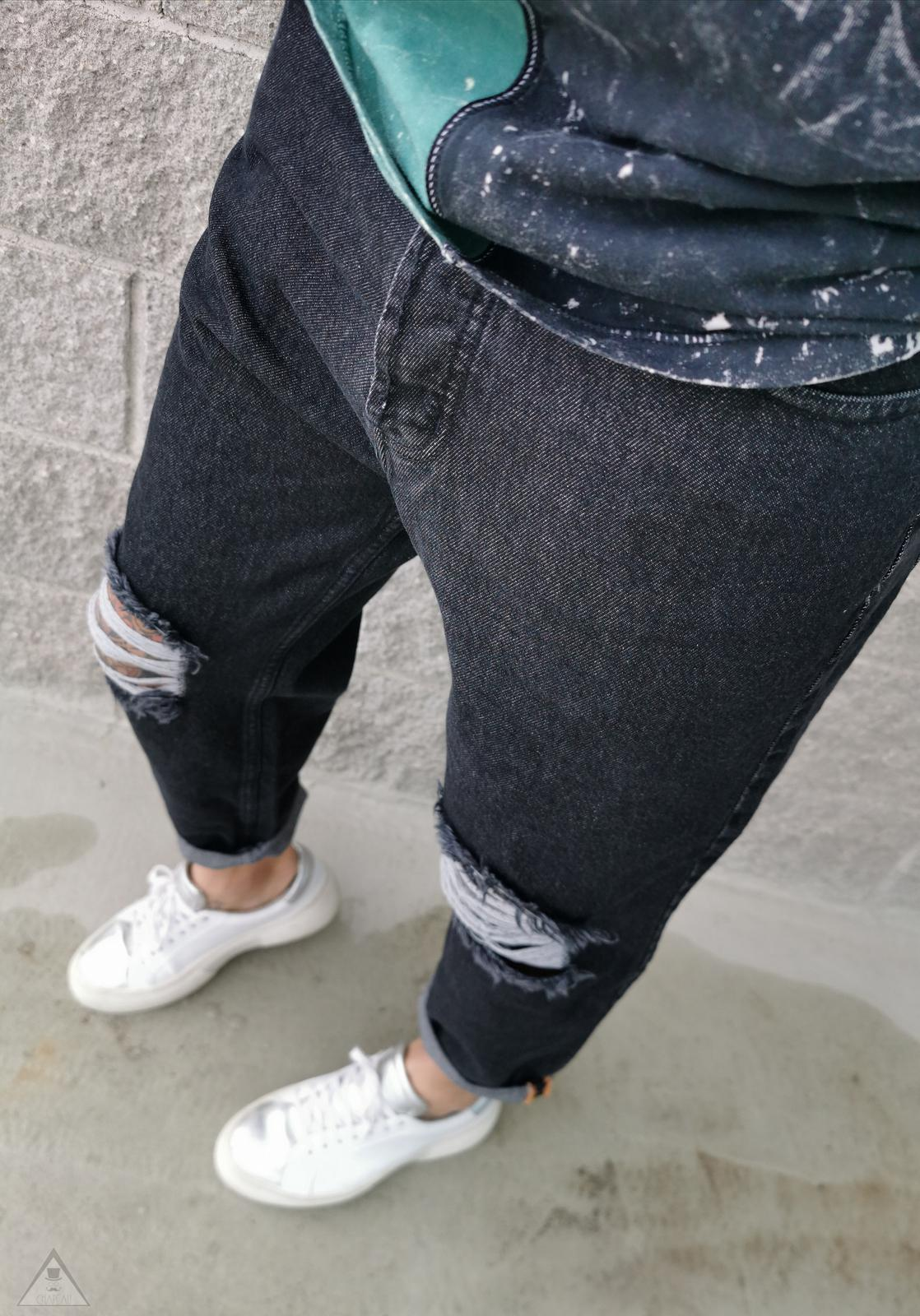 Jeans topo Destroyed