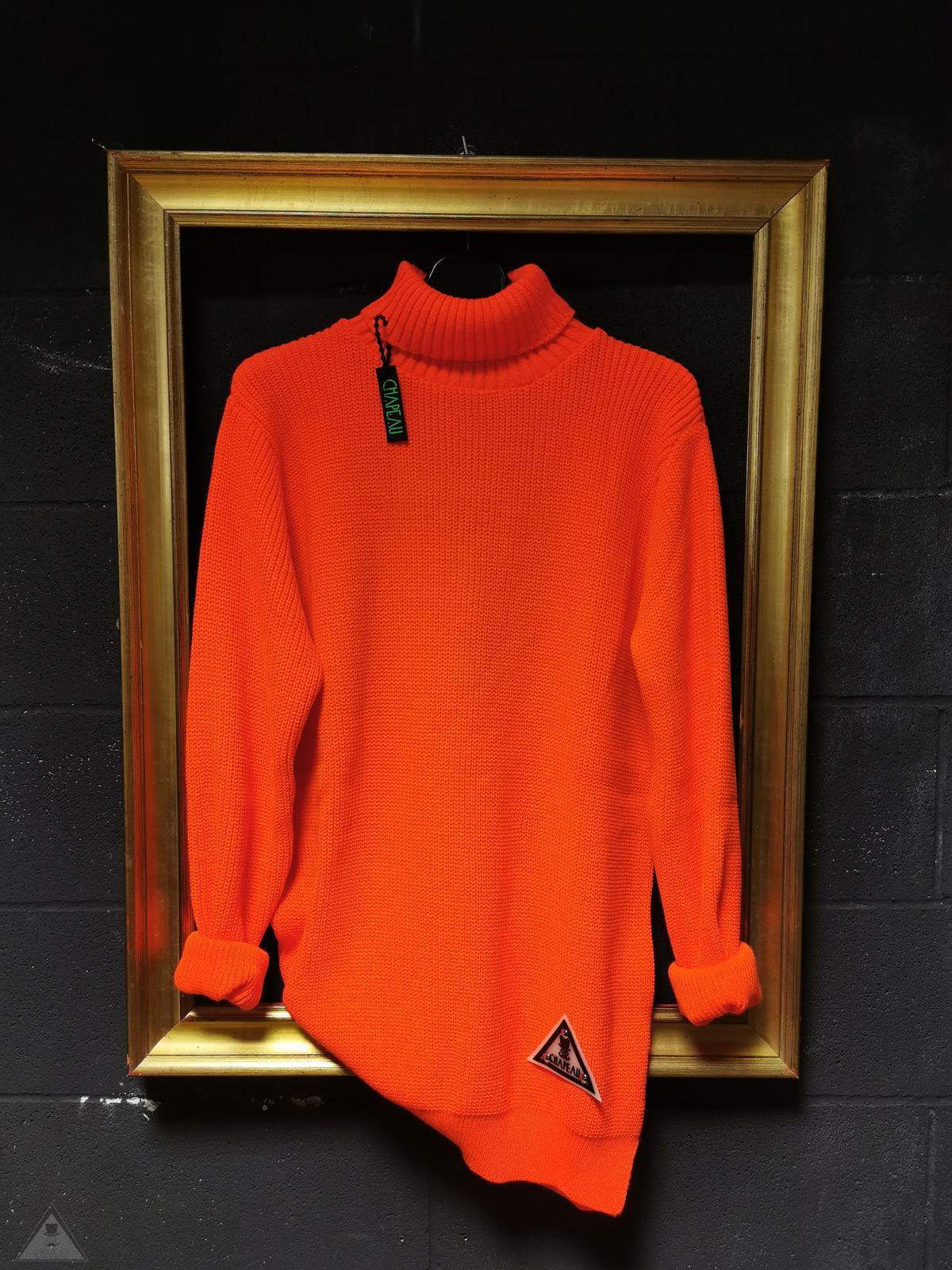 Maglione Authentic Arancione Fluo
