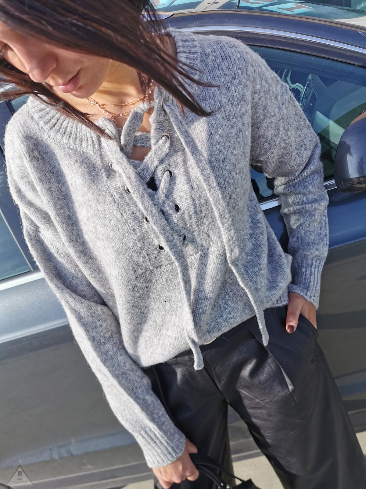 Maglione Lacci Grey