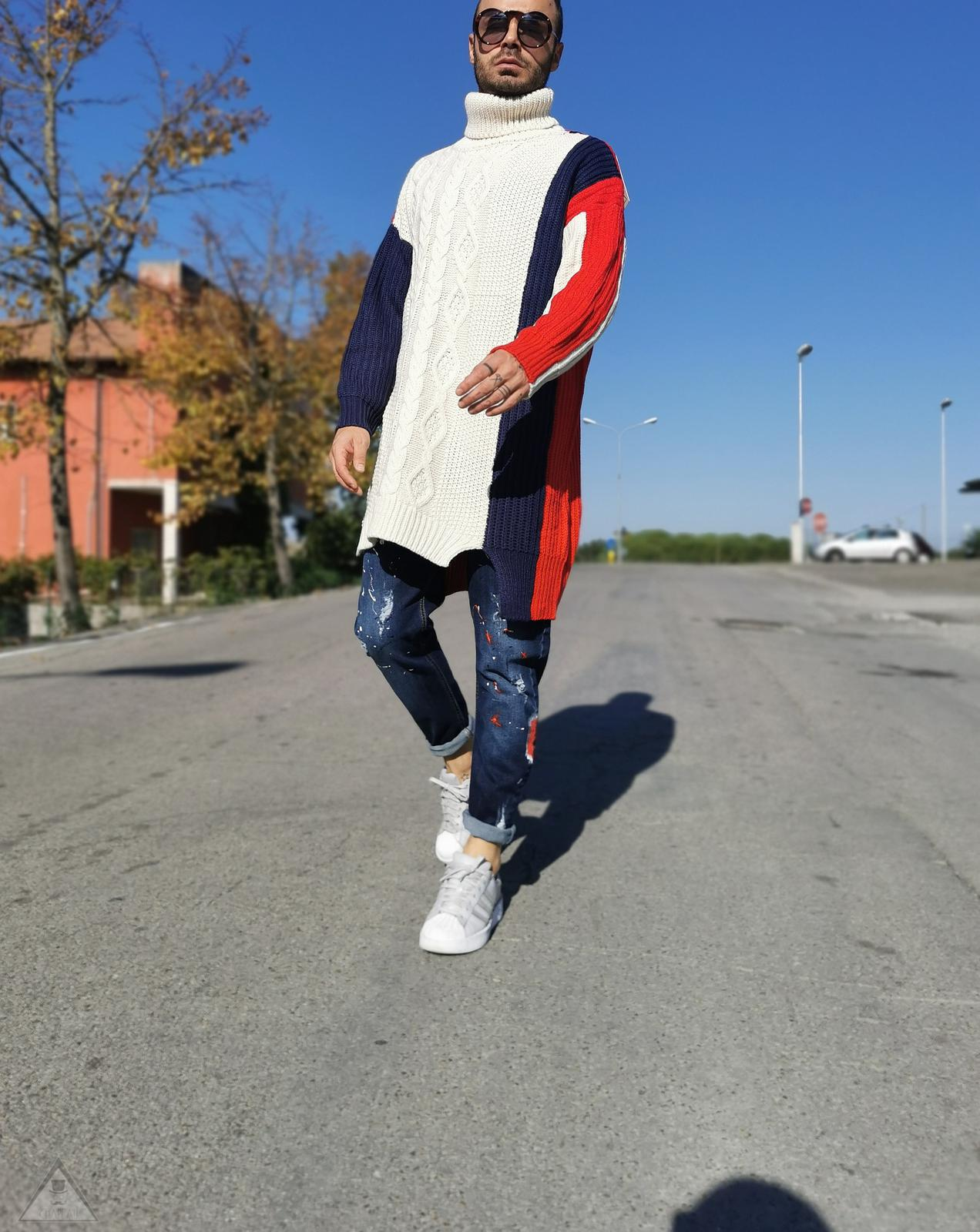 Maglione Over Patch